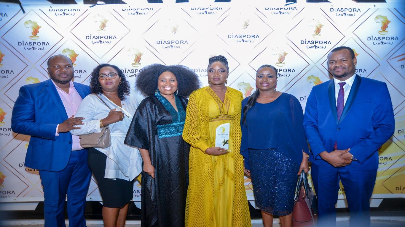 Seynabou Dia distinguée aux «Diasporas Awards»